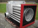 new style hooded rear air plenum 500,000 btu 10'' stack