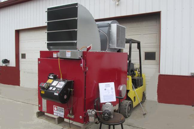 Clean Burn Waste Oil Heater Furnace